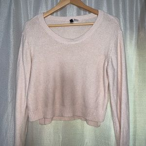 Comfy slightly cropped sweater